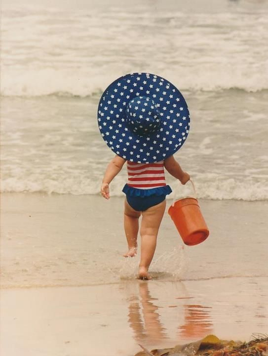 July-4th-Baby-on-Beach-Pic